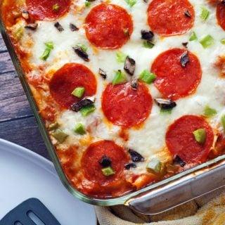 Pizza Tortellini Bake