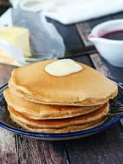 Super Fluffy Whole Wheat Pancakes