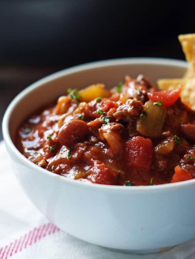 Amazing 30 Minute Chili