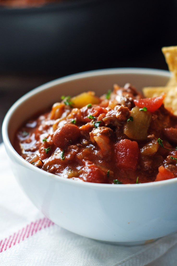 30-Minute Chili Recipe — Dishmaps