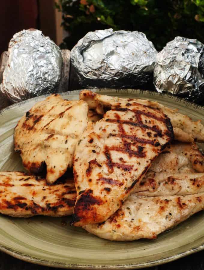 Garlic Ranch Chicken Marinade