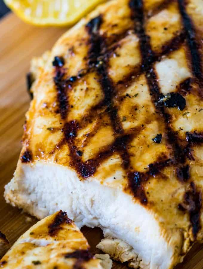 Garlic Ranch Chicken Marinade is a quick and easy marinade that is full of flavor and makes grilling, sautéing, or baking delicious chicken a snap.