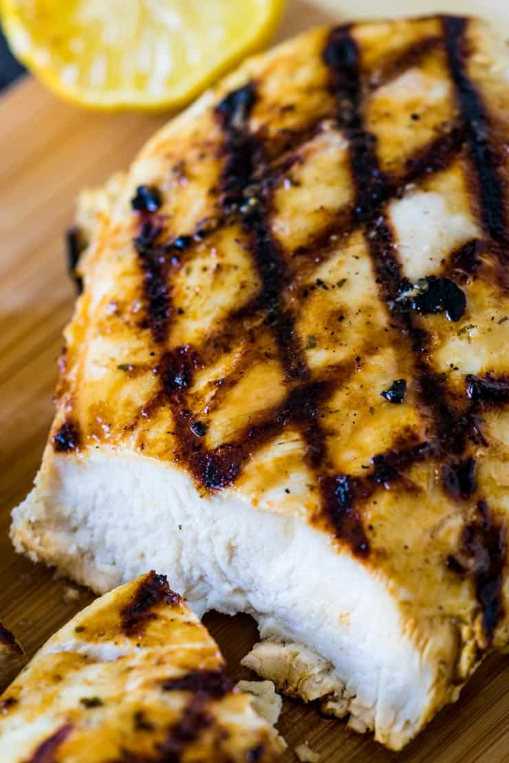 Garlic Ranch Quick Chicken Marinade with Hidden Valley Ranch makes juicy grilled chicken.