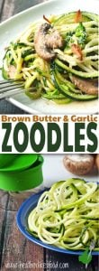 Zucchini Noodles with Garlic