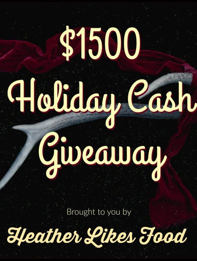 $1500 Holiday Giveaway and My Favorite Things