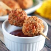 Sausage Cheese Appetizer Bites-- a quick and easy snack!