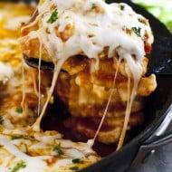 Frozen Ravioli Lasagna in One Pan!