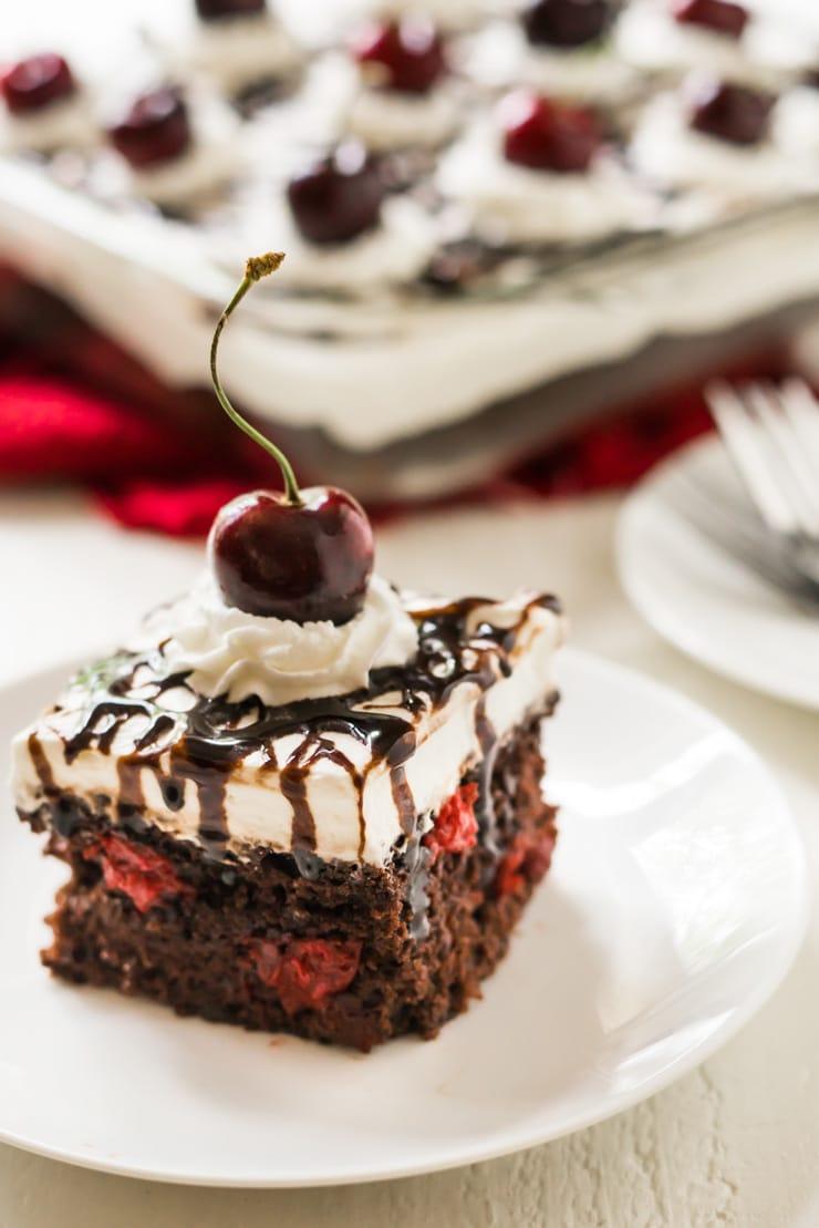 Easy Black Forrest Cake3