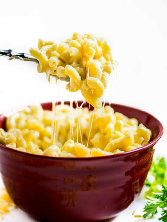 Impossibly Cheesy Homemade Mac and Cheese