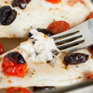 Easy Italian Baked Tilapia