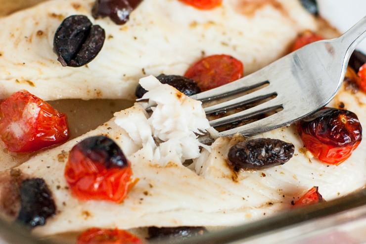 Italian Baked Tilapia