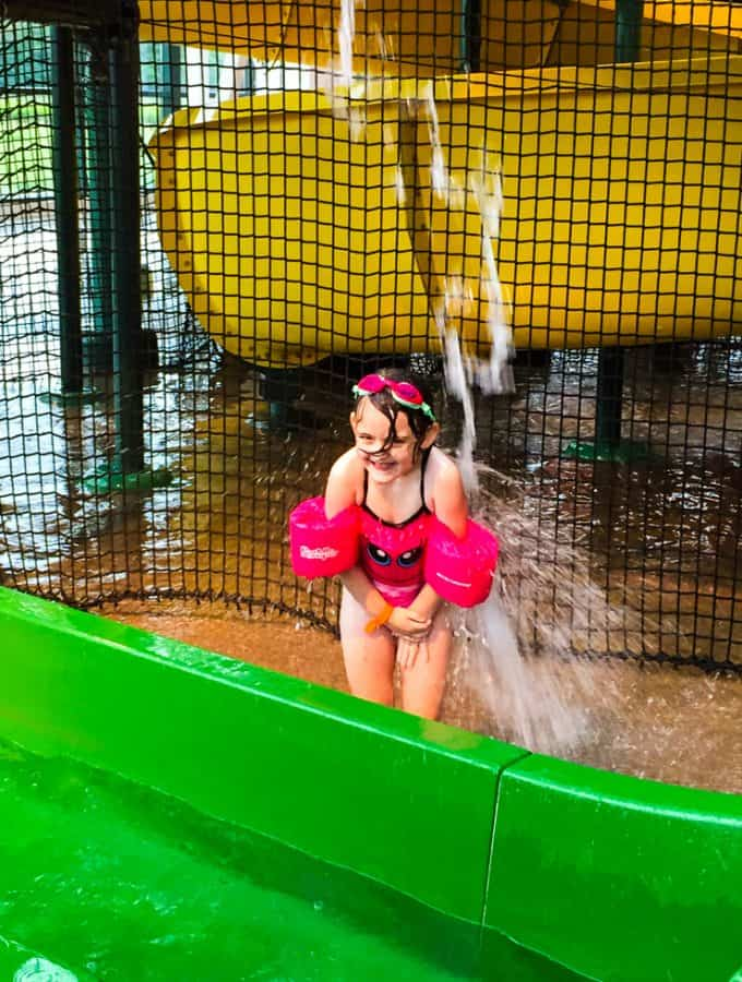 How To Stay Sane At the Waterpark With Young Kids