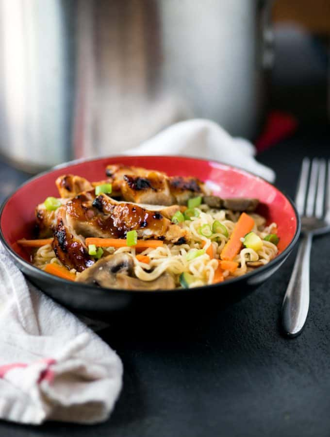 Quick and Easy Terriyaki Chicken Big Bowl
