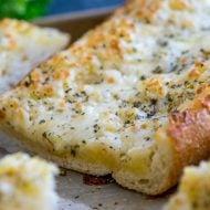 The Best Cheesy Garlic Bread