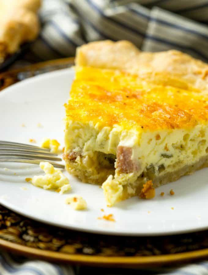 The Only Quiche Recipe You'll Ever Need