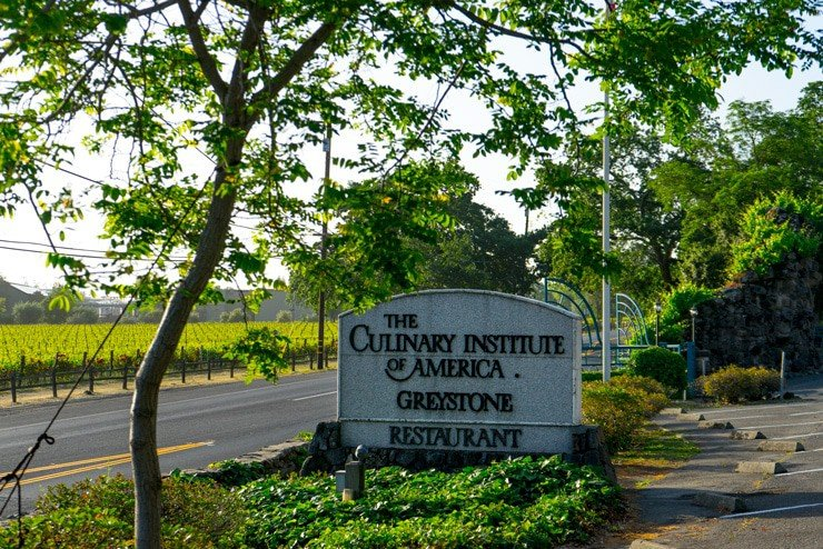 Culinary institute of america, napa sign
