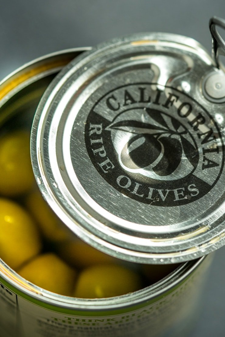 California Ripe Olives Can