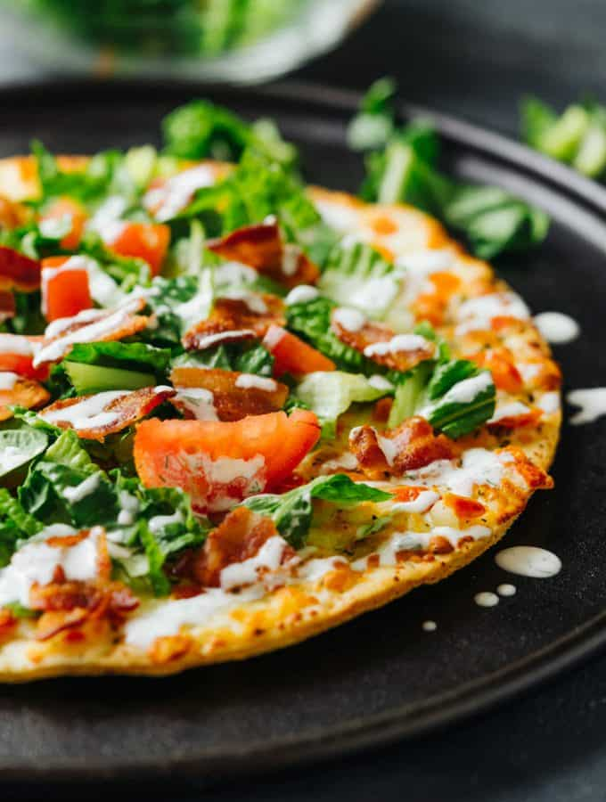 Easy BLT Margherita Pizza