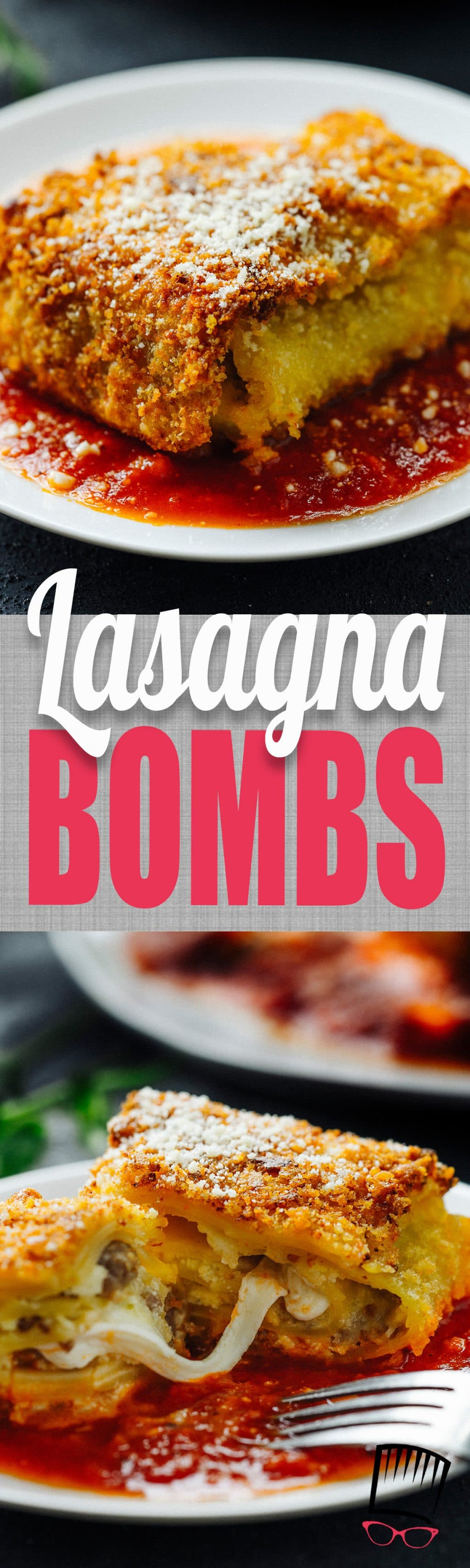 Looking for a new way to serve up lasagna? These Lasagna bombs have all that you love about lasagna wrapped up in a crispy-fried pasta-y shell. It's lasagna taken to a whole new level!
