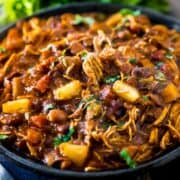 My BBQ Chicken Chili is not only easy to make, it's won a few chili cook-offs, too! It's saucy, sweet, and has a little bit of a kick.