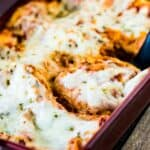 Easy Cheesy No Meat Lasagna Recipe