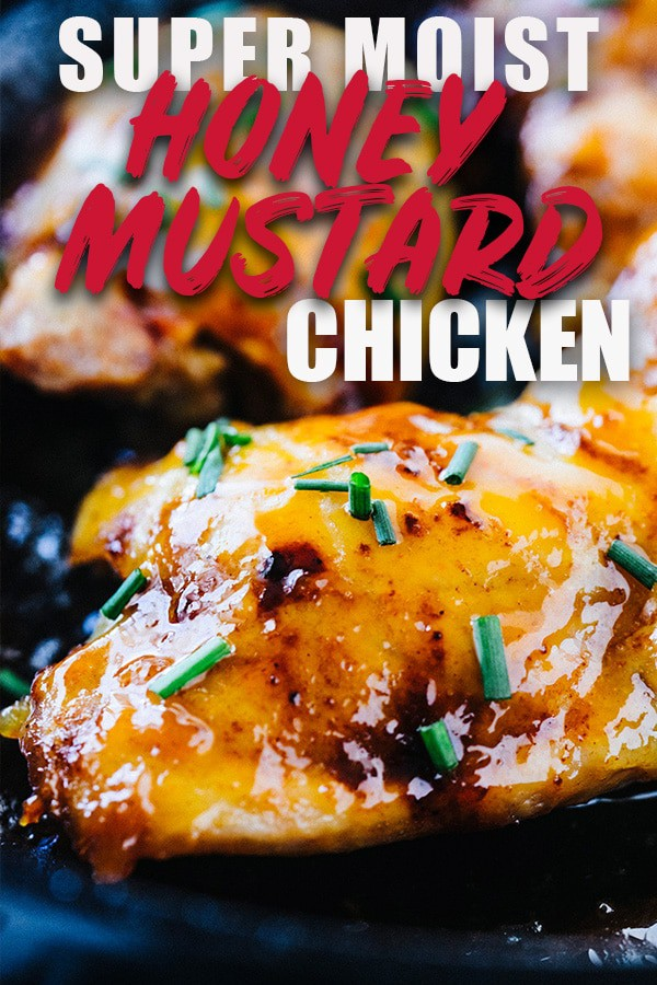 Skillet Honey Dijon Chicken Thighs Juicy Moist And
