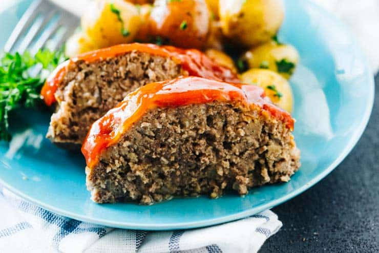 Best Slow Cooker Meatloaf and Garlic Butter Potatoes Recipe