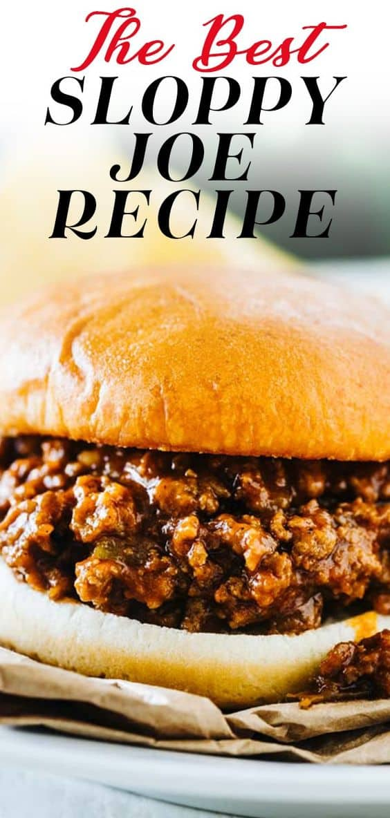 Once you try these sloppy joes, you'll never go back to your old recipe, promise! They are sweet and smoky with just a little kick and an ingredient that you might not expect in sloppy joes! (ps- it's green chiles!) via @hlikesfood