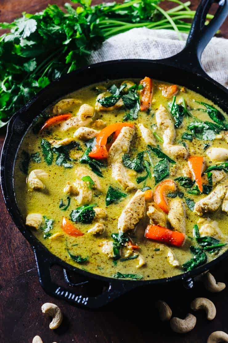 Recipe chicken curry with coconut milk