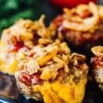 Bacon Cheeseburger Mini Meatloaf Muffins