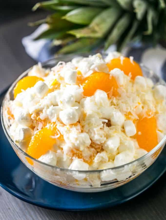 Ultimate Ambrosia Fruit Salad
