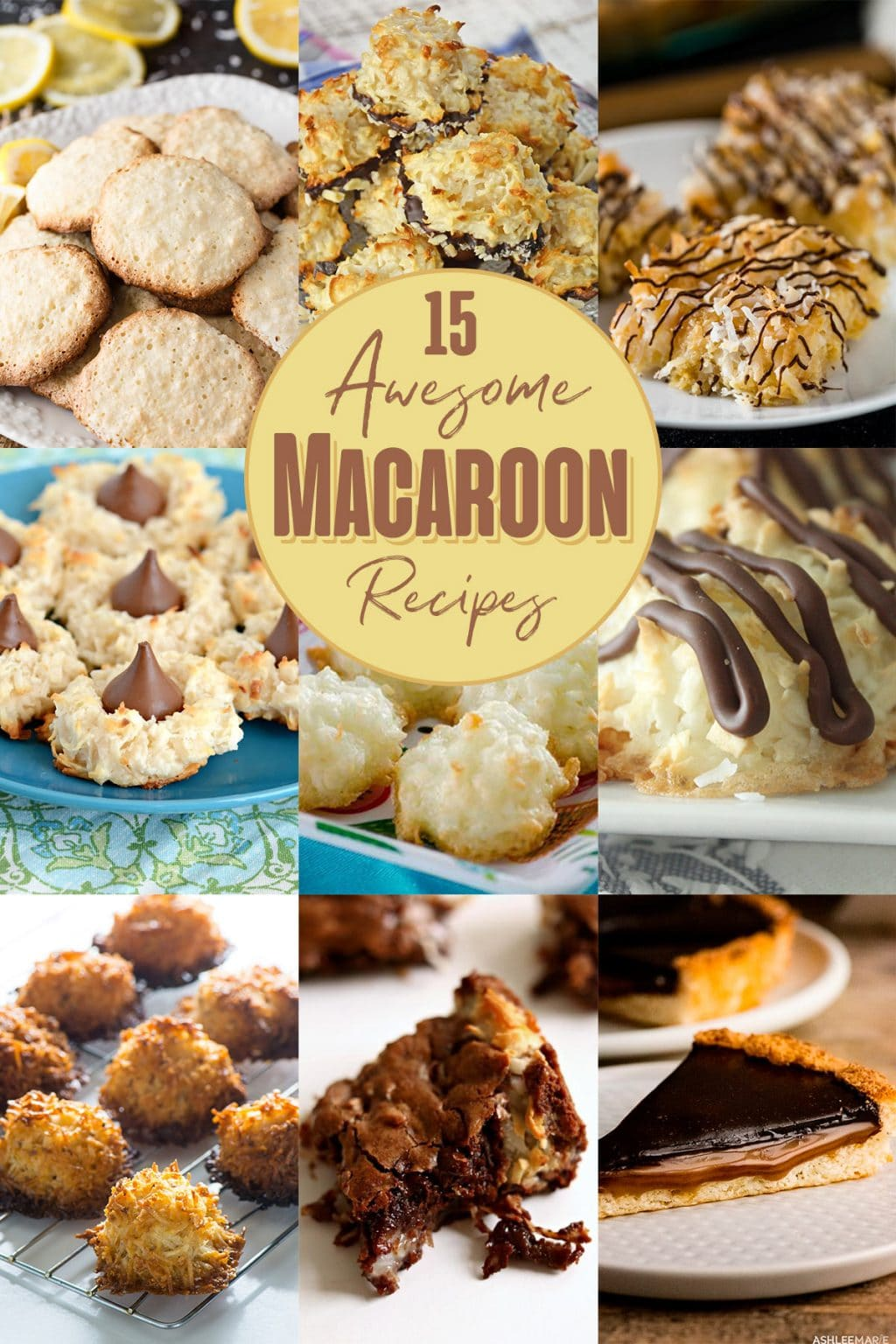 15 coconut macaroon recipes