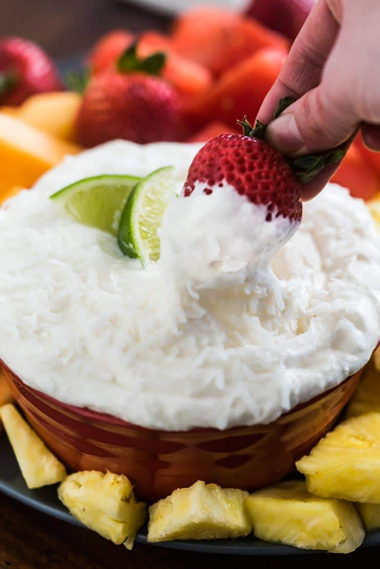 The Best Fruit Dip Recipe