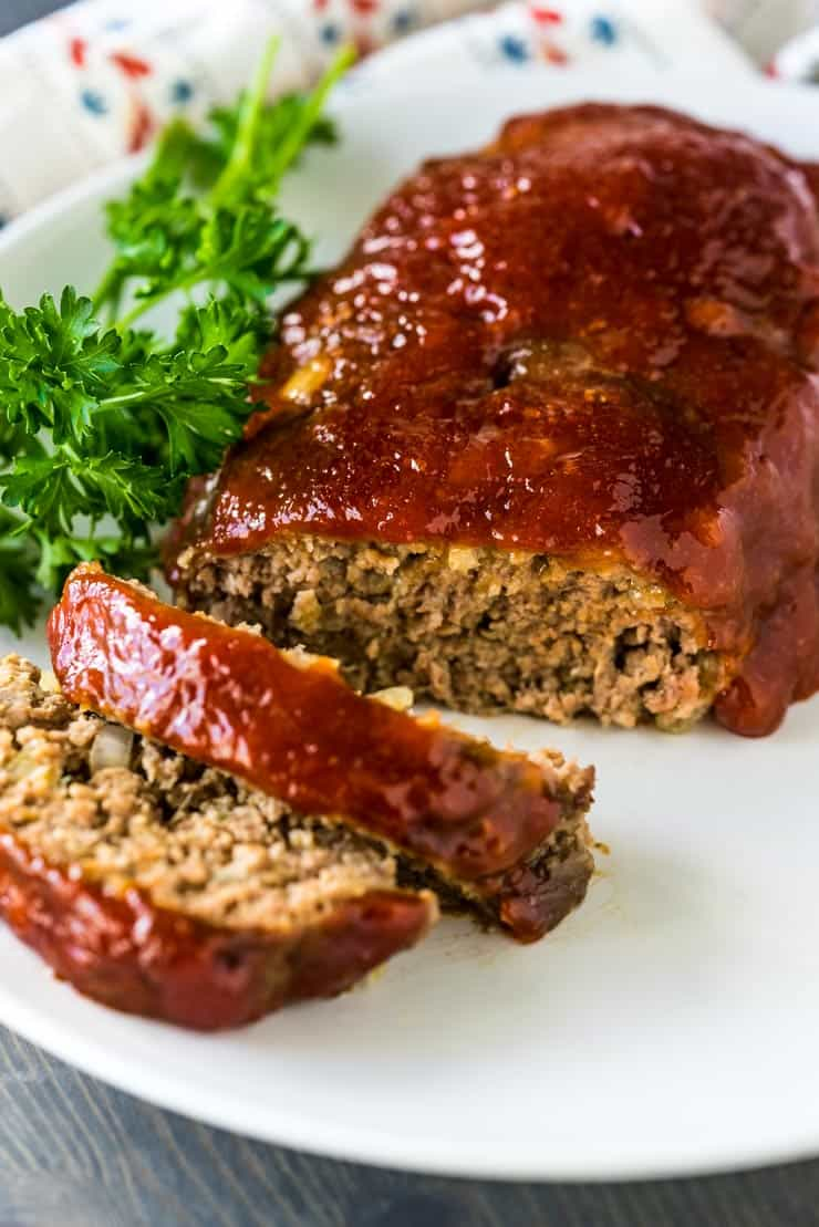 Classic Meatloaf Mom S Recipe Heather Likes Food