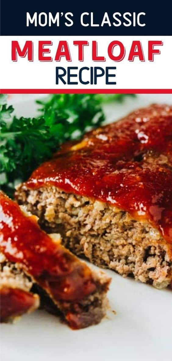 This is the meatloaf recipe my mom has been making for years and everyone that tries it agrees that it is the best recipe out there! Top it with the classic ketchup glaze and it's amazing! via @hlikesfood