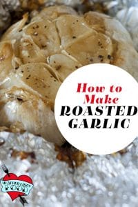 Roasted garlic in foil-- learn how to make it.