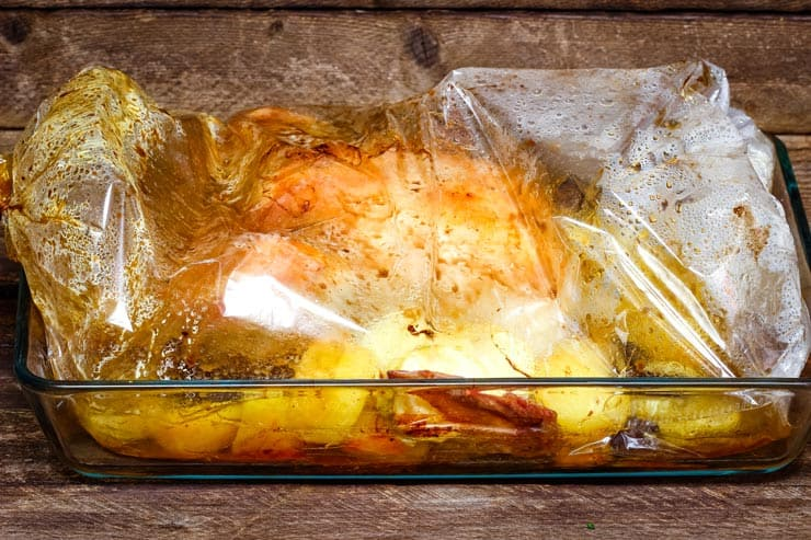 Turkey Cooked in Oven Bag
