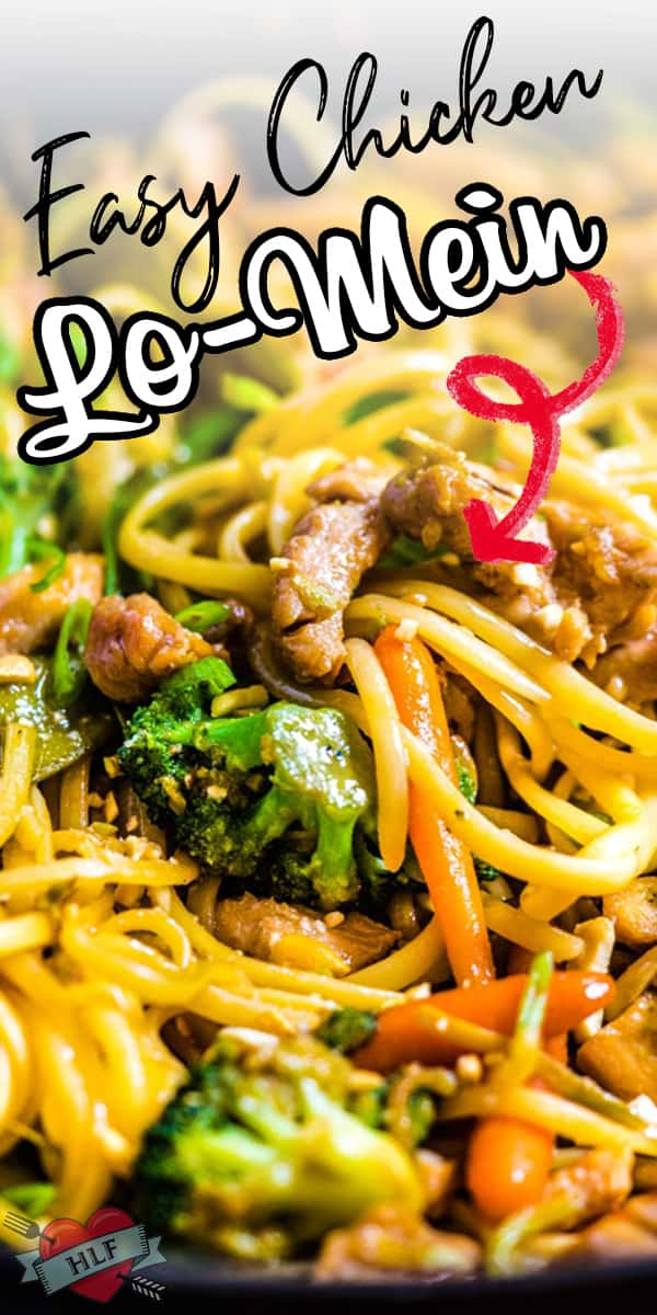 This chicken lo mein recipe uses linguine noodles instead of chinese egg noodles so you practically always have the ingredients on hand for this easy, homemade dinner. As long as you have some chicken, noodles, veggies, soy sauce, apricot jam and a few other ingredients, you're good to go! via @hlikesfood
